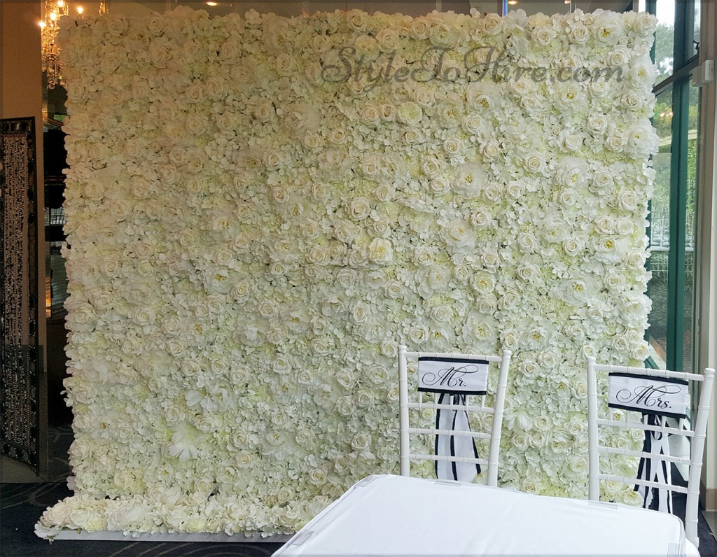 White flower walls $299.00 each