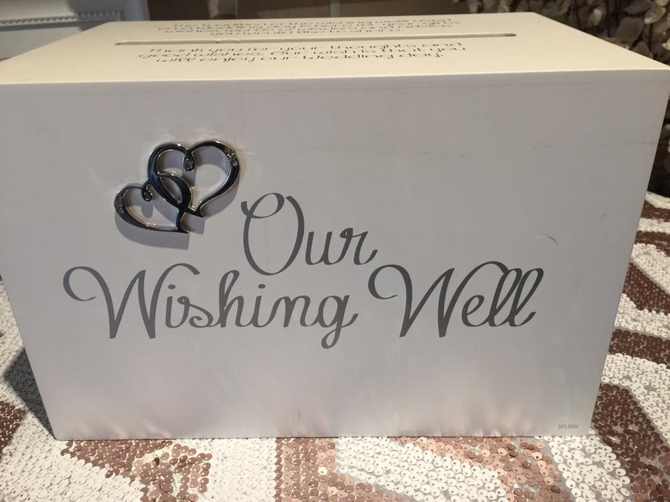 Square wishing well $30.00
