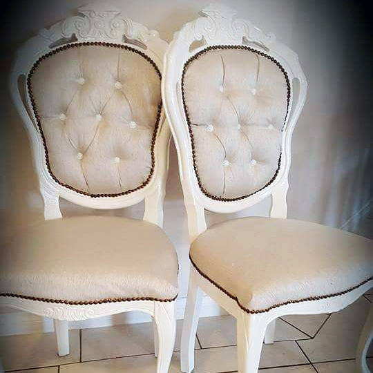 King and Queen chairs $25.00 each