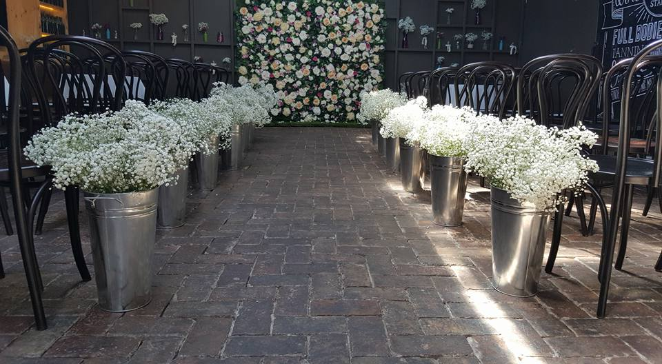 Baby breath aisle runners