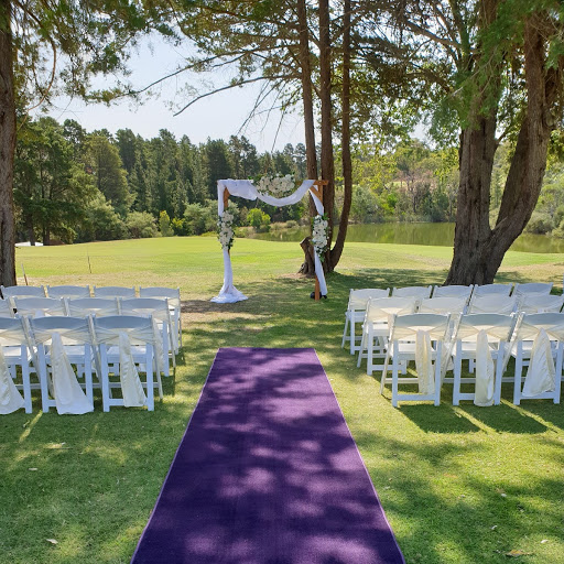 Ivy in ceremony package at Blackwood Golf Club