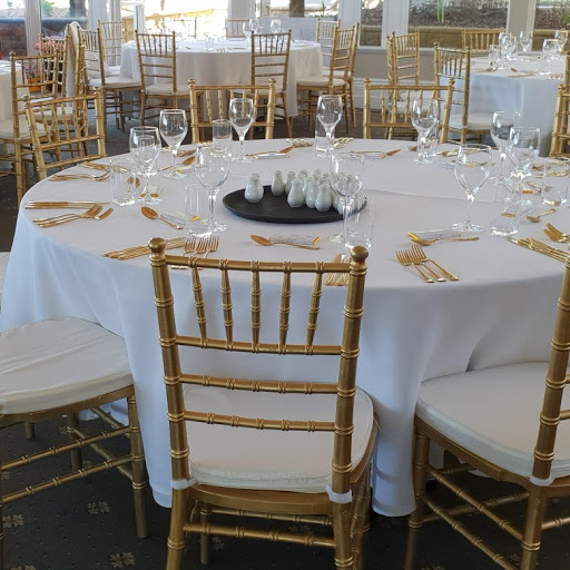 Gold Chivari chairs at Mt Lofty