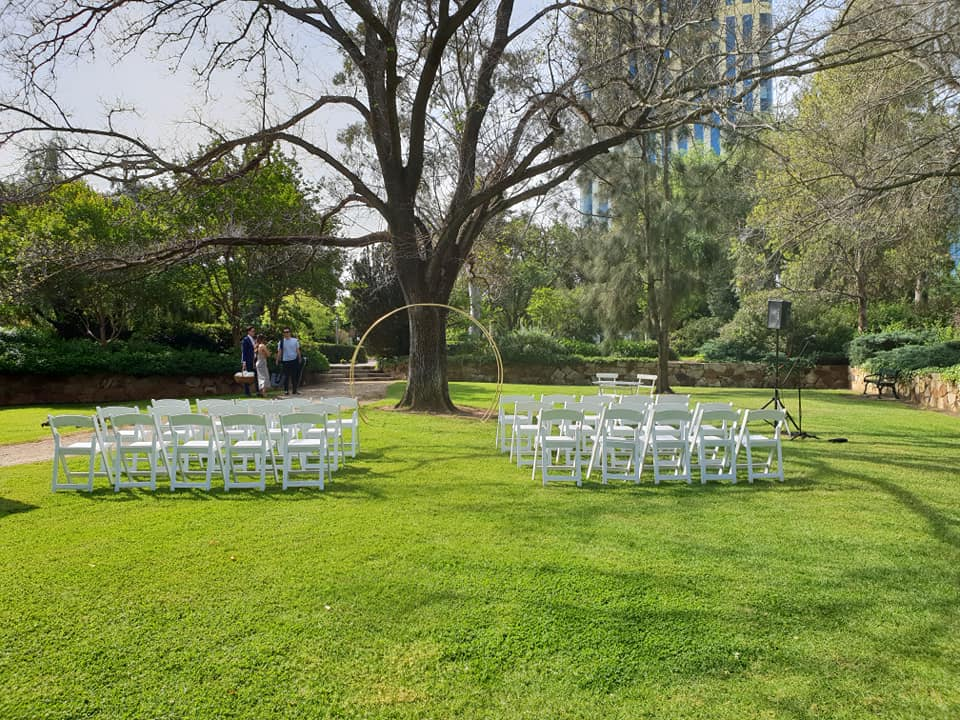 Ceremony package at Veale Gardens