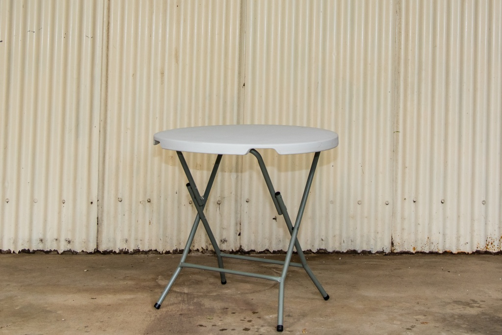 Round table $8.50 each