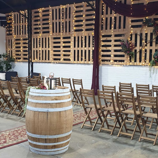Wooden ceremony seats $4.00 each