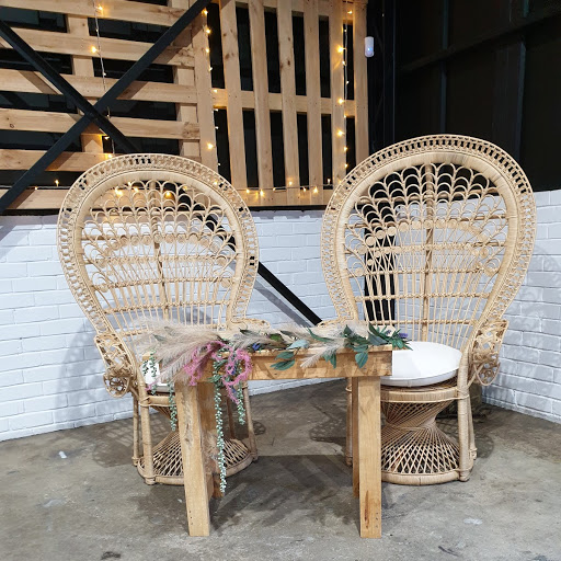 Boho signing chairs and table combo $145.00