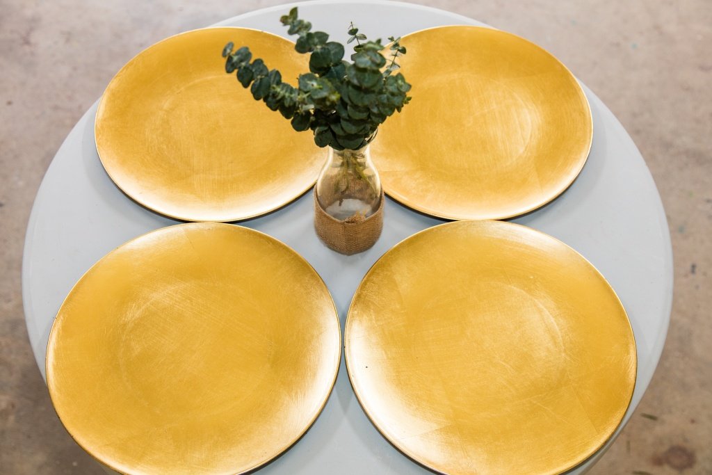 Gold charge plates $1.00 each
