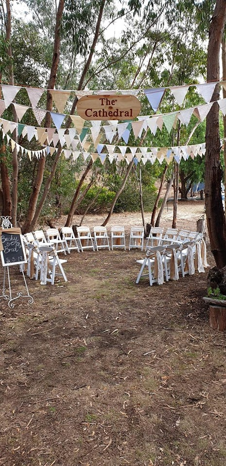 with Adelaide Pop Up Weddings @ Currency Creek