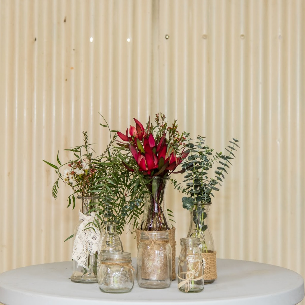 Mixed jars & vases 75c to $1.50 each